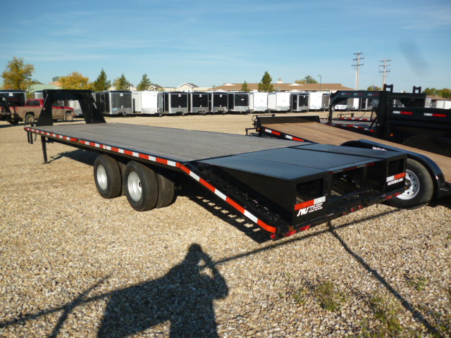 2019 26 u2032  2 10k gooseneck    pintle dually wheel trailer  u2013 sws trailers