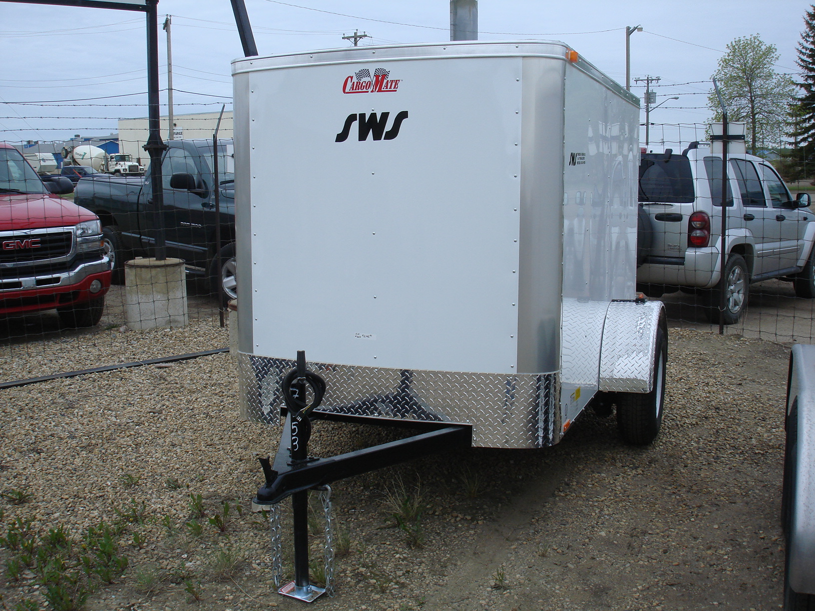 Trailer Also Trailer Wiring Diagram On Wells Cargo Tandem Trailer