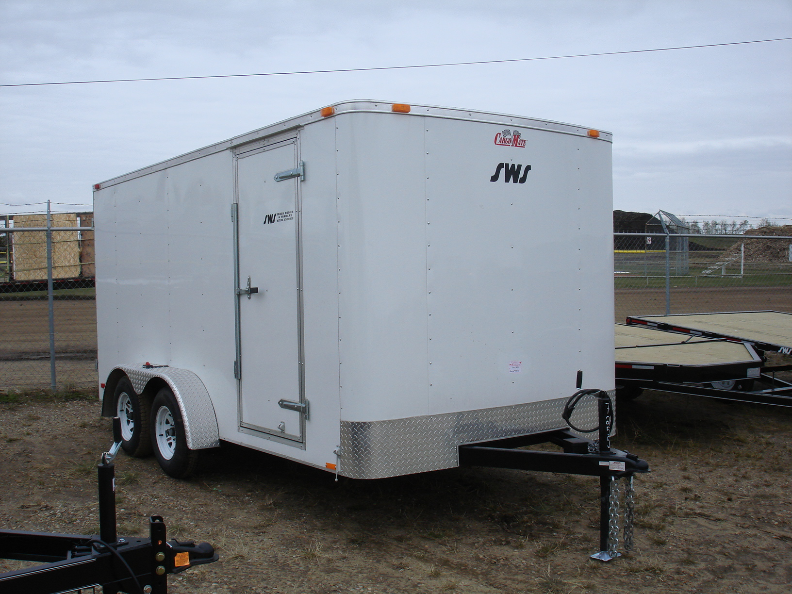 Enclosed Cargo Trailers As Well Tandem Axle Trailer Wiring Diagram