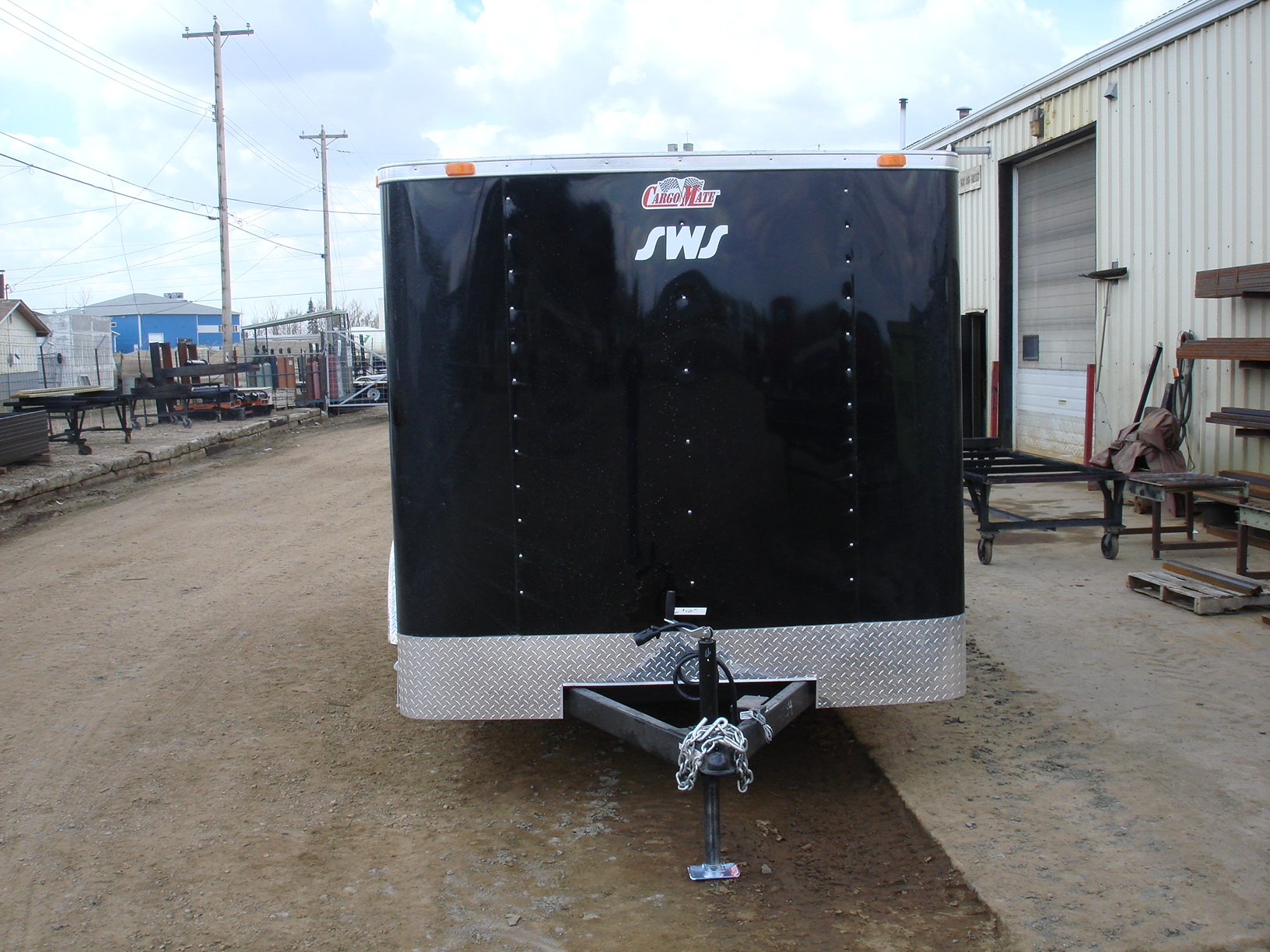 2019  u201cc u201d series 7 u2019x16 u2032 enclosed cargo trailer